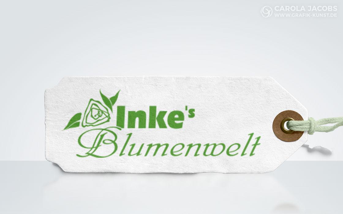 Inkes Blumenwelt Logo