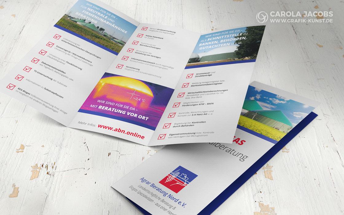 ABN – Biogas Beratung - Faltblatt
