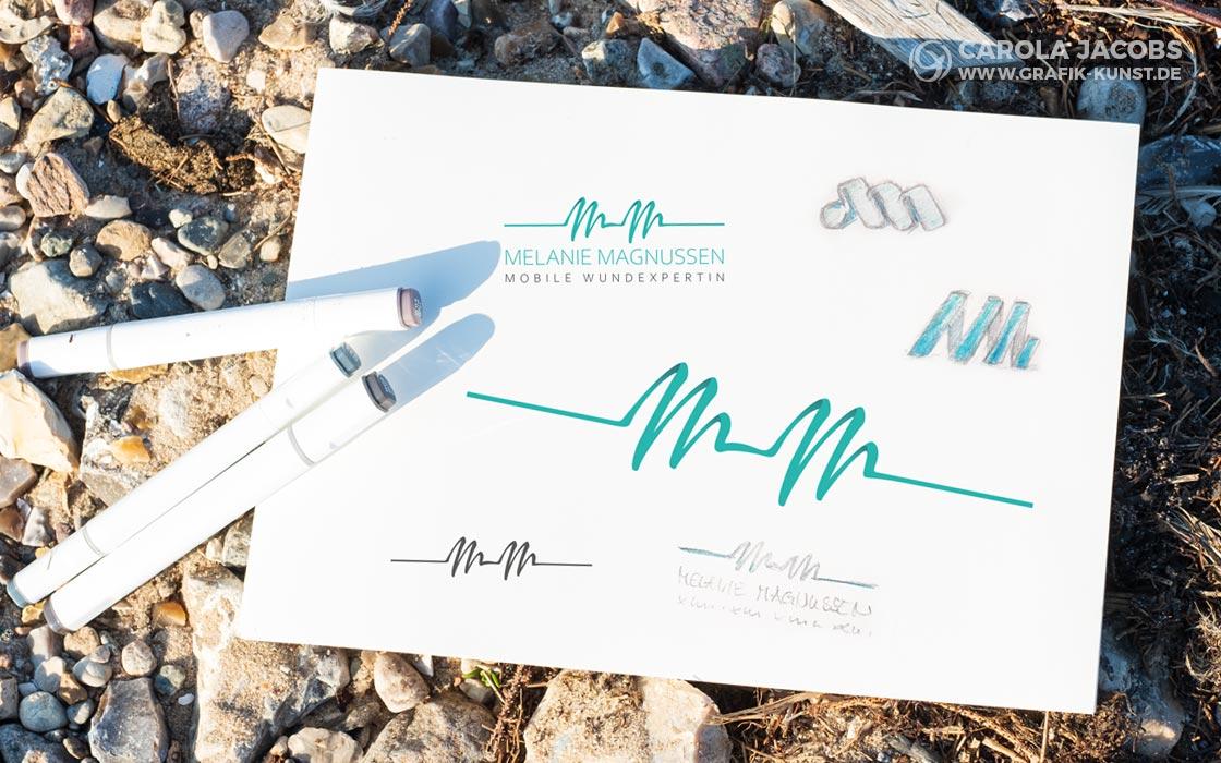 Melanie Magnussen - Logo