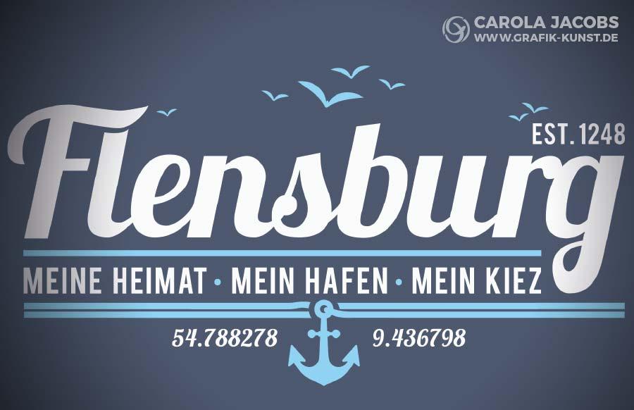Flensburg - meine Heimat - mein Hafen - mein Kiez