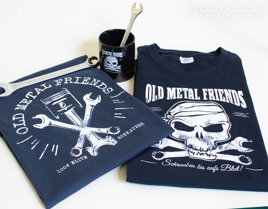 Old Metal Friends - Motive für Schrauber