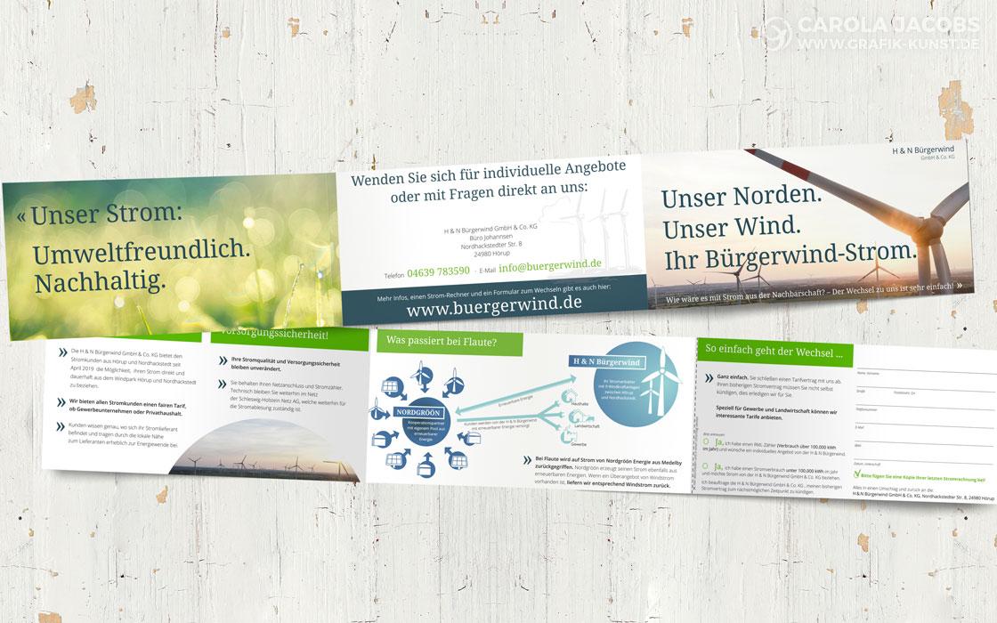 H & N Bürgerwind - Faltblatt