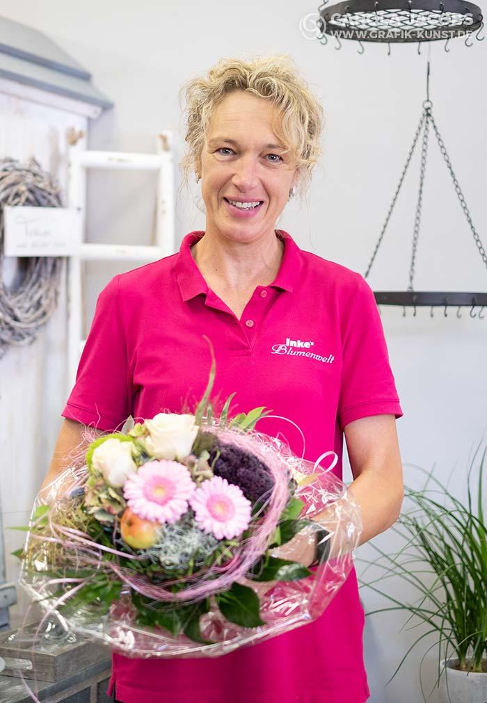 Inke Dahlhoff von Inkes Blumenwelt in Schafflund
