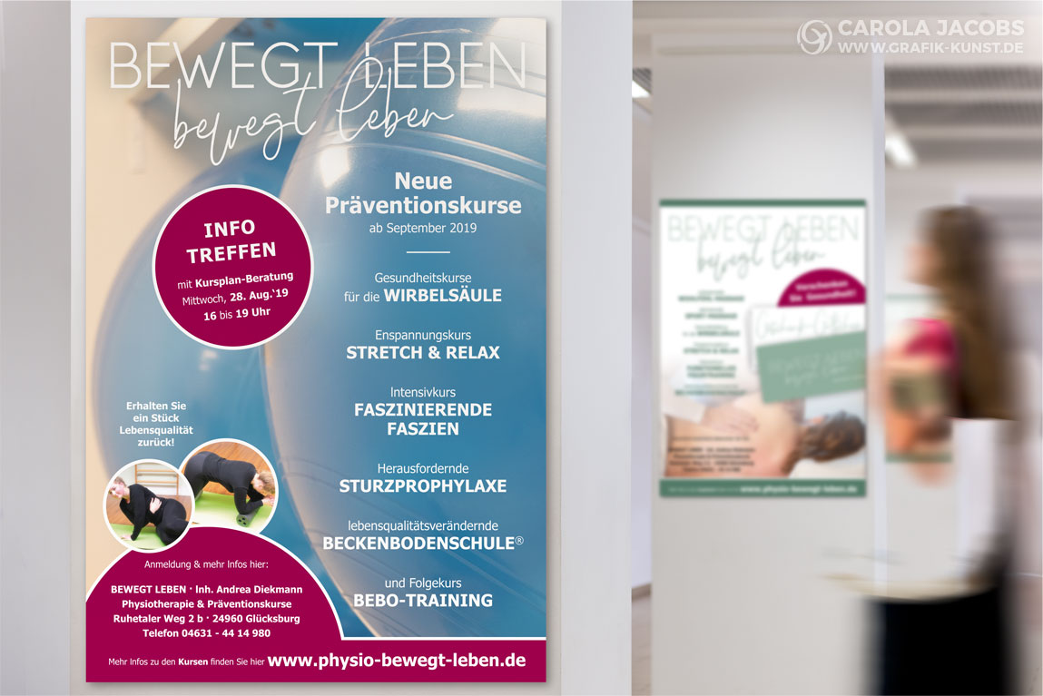 Physiotherapie Andrea Diekmann – Plakate