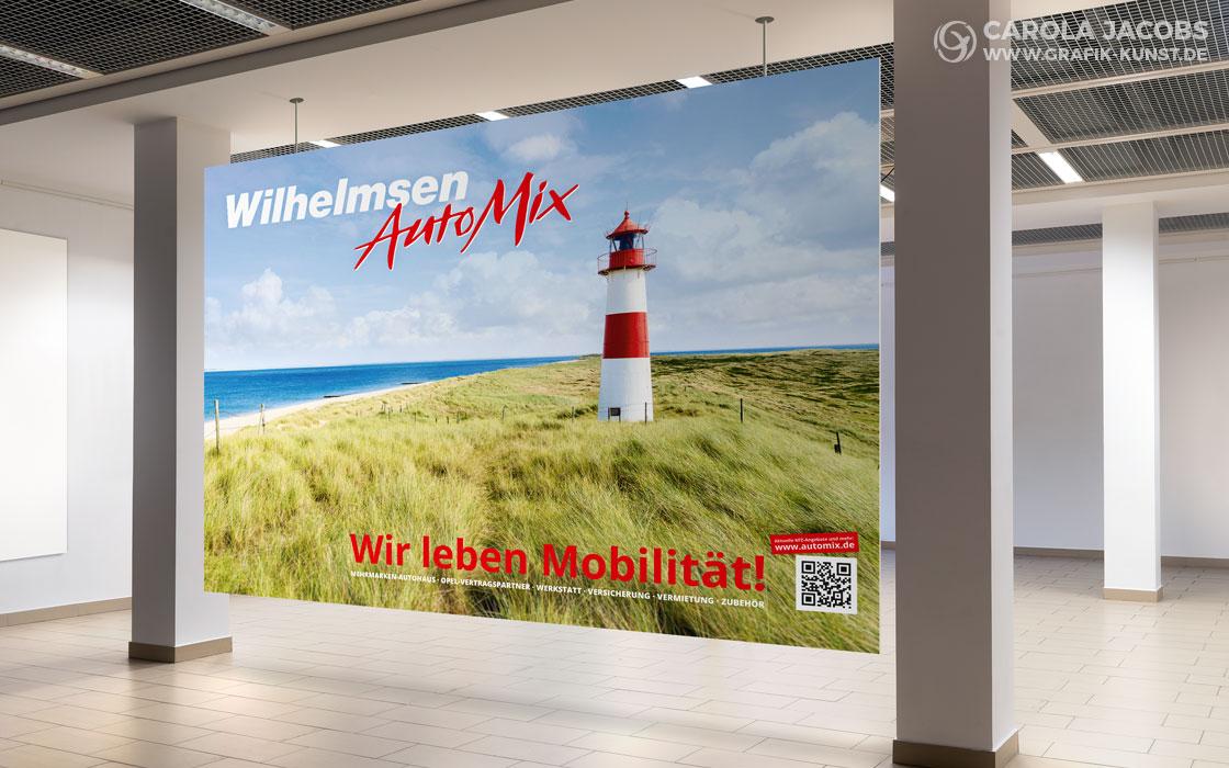 Wilhelmsen Automix - Großflächenplakat