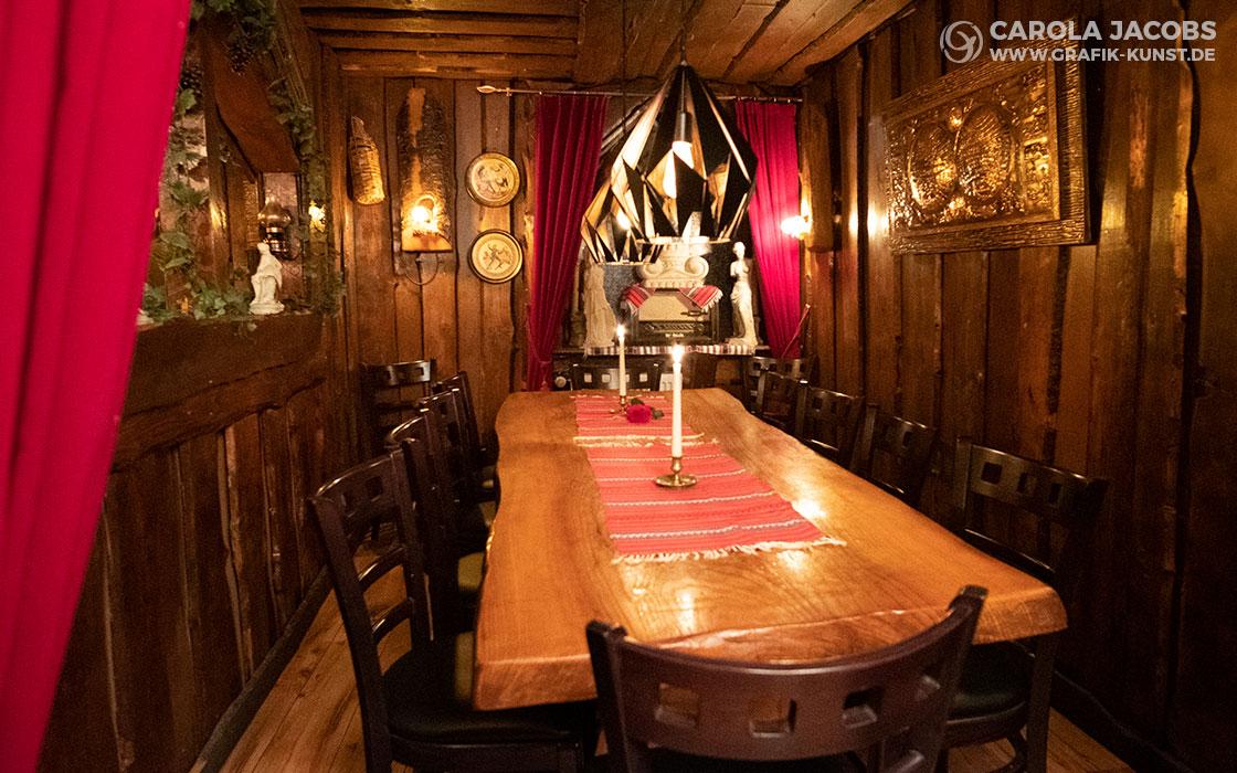 Kreta Taverna – der große Tisch