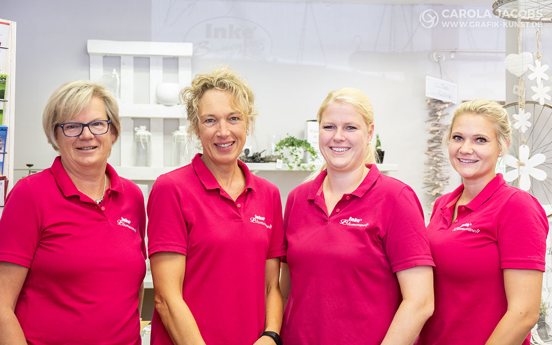 Inkes Blumenwelt-Team