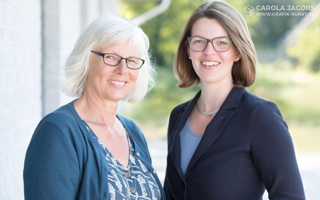 Sieglinde Sommer und Kathrin Clausen - Sozialstation Schafflund