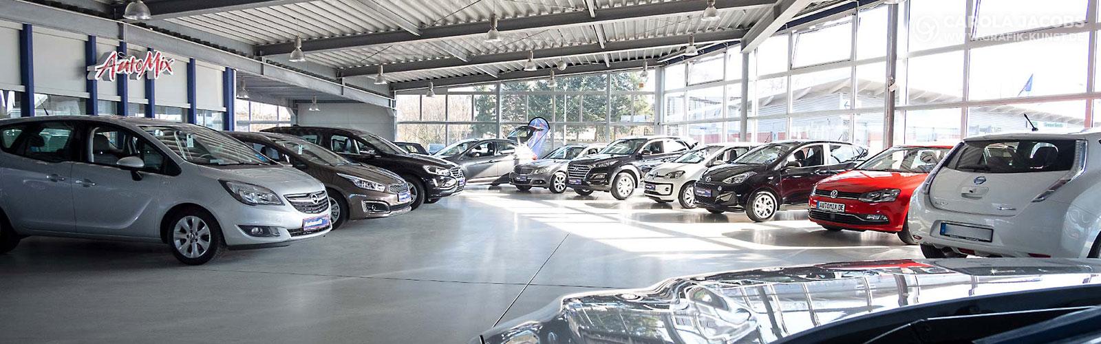 Wilhelmsen AutoMix - Verkaufshalle