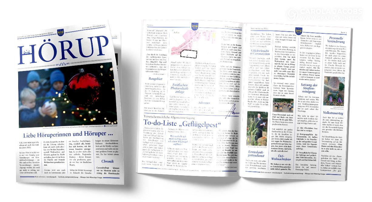 Gemeinde Hörup – Infozeitung