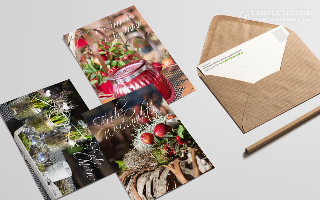 Inkes Blumenwelt – Grußkarten