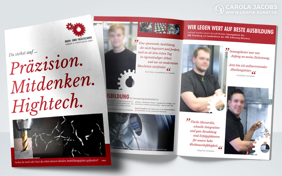 Broschüre über die Ausbildung bei Lambert & Christiansen