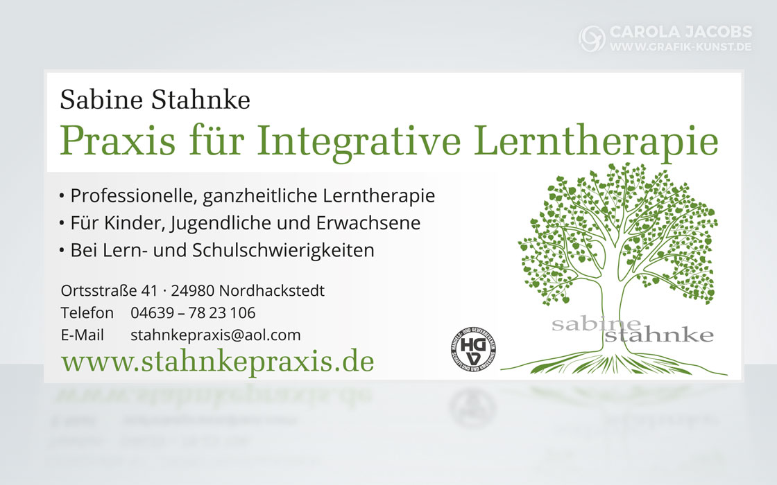 Sabine Stahnke - Praxis für Integrative Lerntherapie – Anzeige