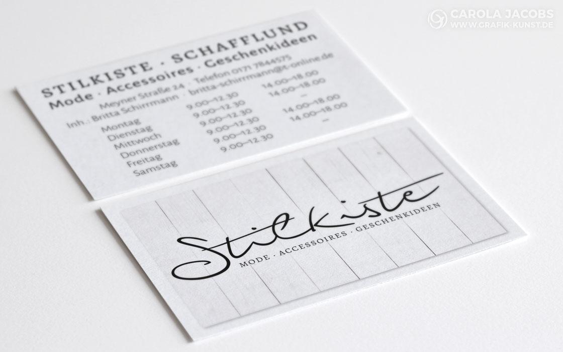 Stilkiste - Logo